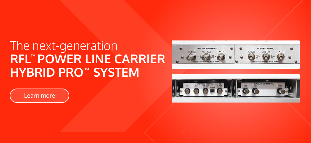 The next-generation RFL Power Line Carrier Hybrid Pro System